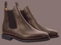 Sanders Towchester DK Waxy Chelsea Boot - brown