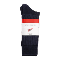 Red Wing Classic Rib Sock Navy
