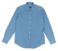 Portuguese Flannel Blue Denim