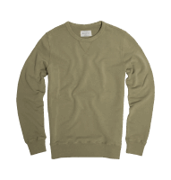 Bowery NYC - Crew Sweat - Dill Green