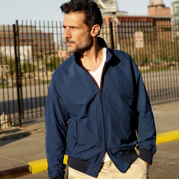 Baracuta G9 Jacket - navy
