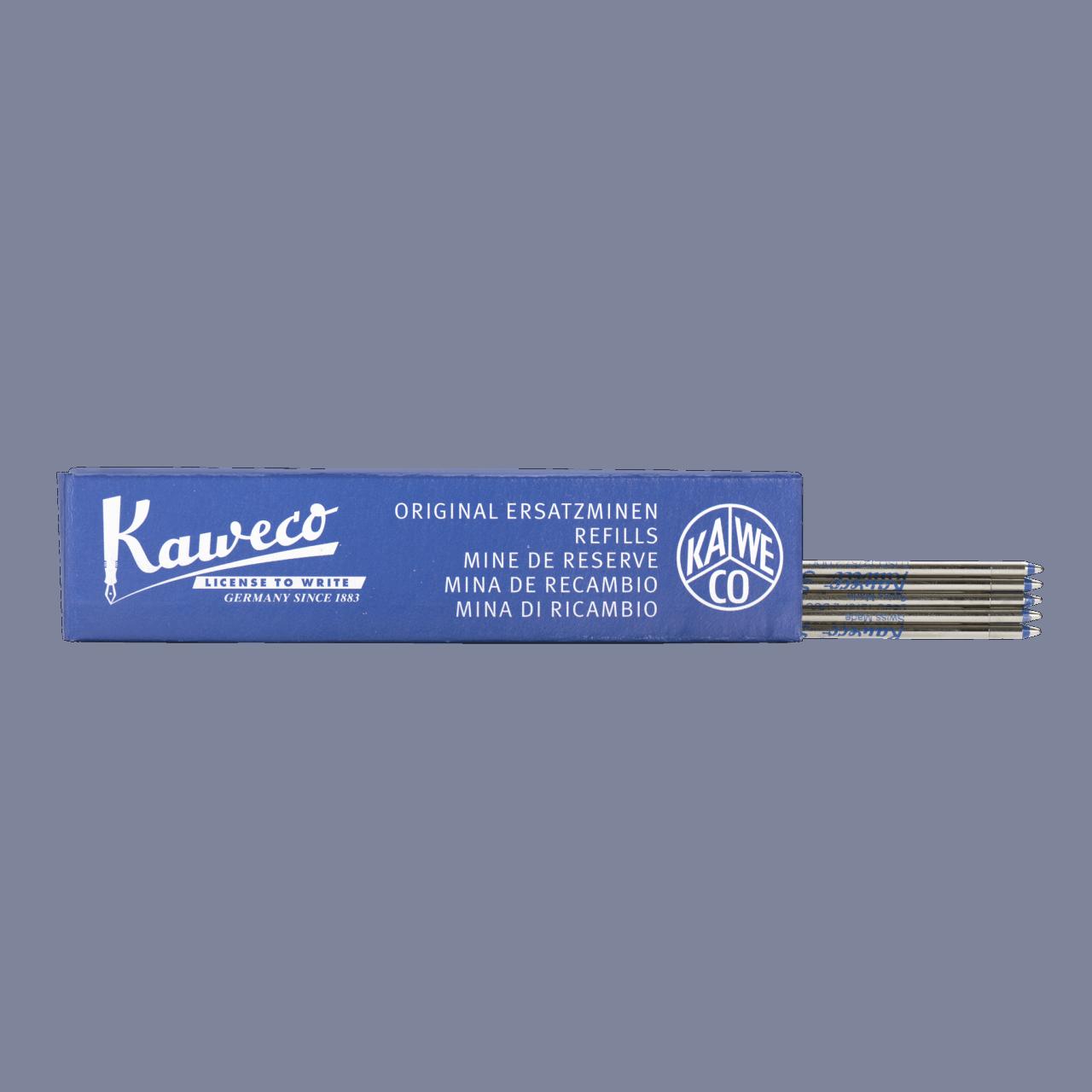 Kaweco D1 Ballpen Refill 5er Box- Blue