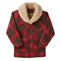 Filson - Lined Wool Packer Coat Red Green