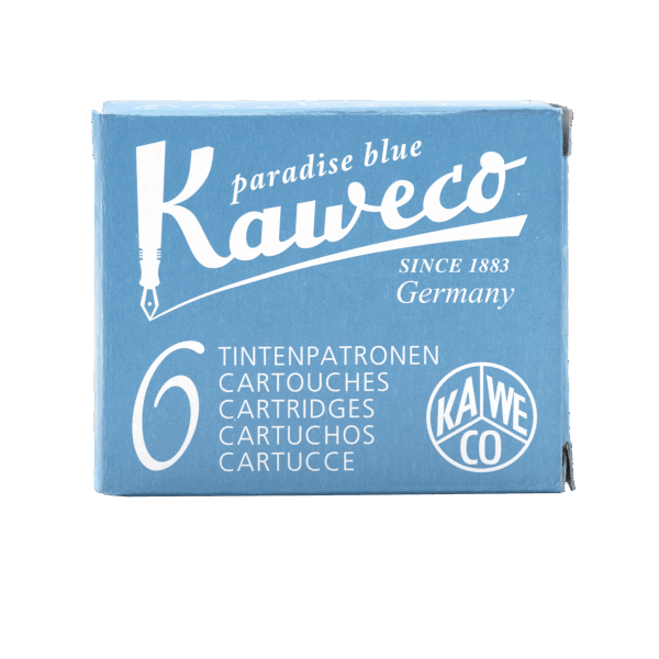 Kaweco Premium Ink Cartridges Paradise blue