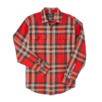 Filson Scout Shirt red-black-flame