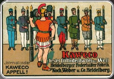 Kaweco ALU Stonewashed Kugelschreiber Blue