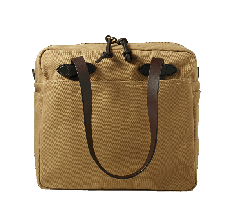 Filson Zip Tote Bag - Tan