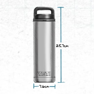YETI Rambler 18 oz Flasche - navy