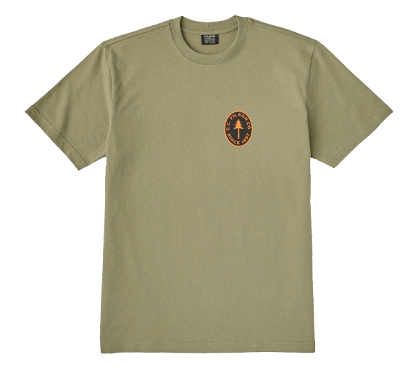 Filson Outfitter Graphic T-Shirt - burnt olive