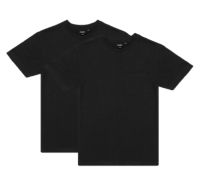 Deus 2-Pack Pocket Tee - Black