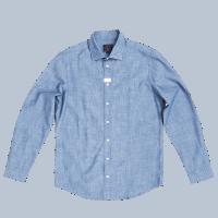 BLUE DE GENES Miguel Chambray Shirt