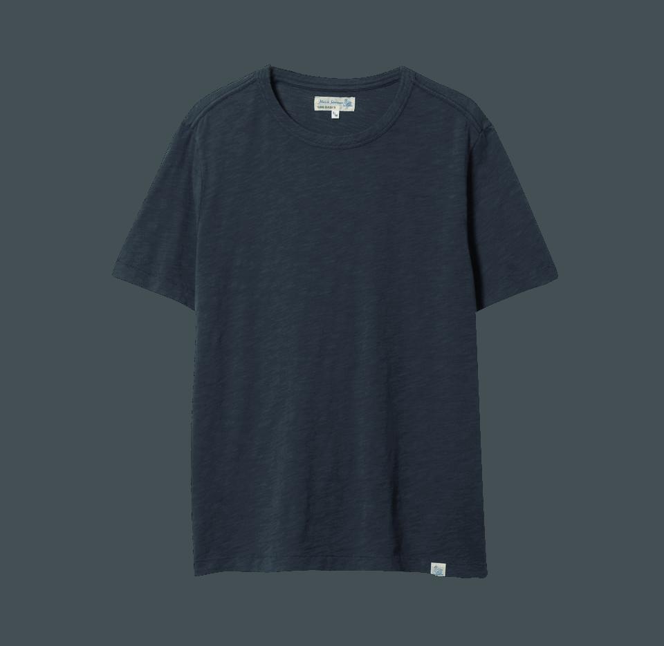Merz b. Schwanen G.B. Genderless T-Shirt - denim blue