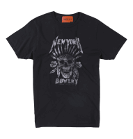 Bowery NYC - New York Skull - Black