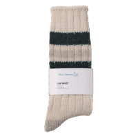 Merz b. Schwanen G.B. Socks - natur-charcoal