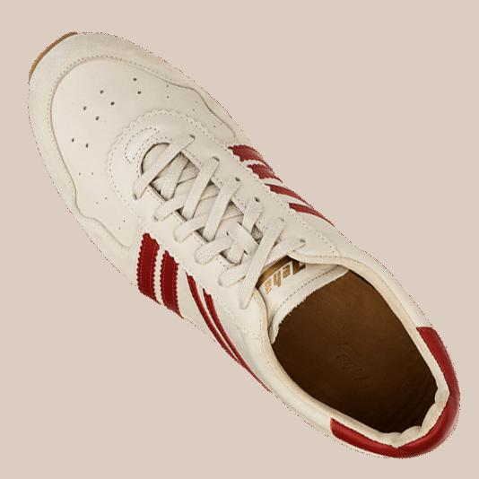 Zeha Berlin - Marathon - creme/ rot/ beige