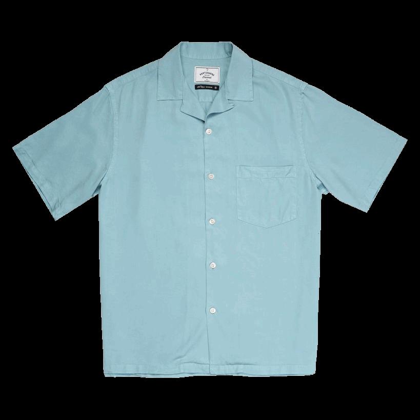 Portuguese Dogtown Shirt - sky