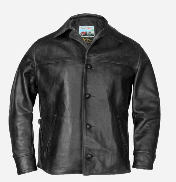 Aero Leather Teamster black