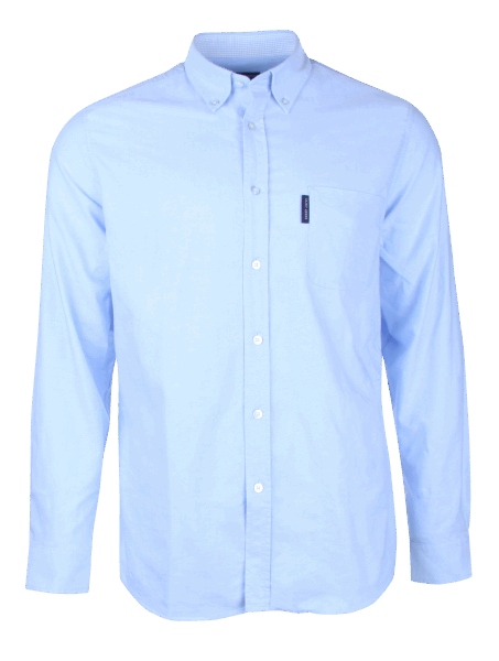 Saint James Oxford Shirt - blue