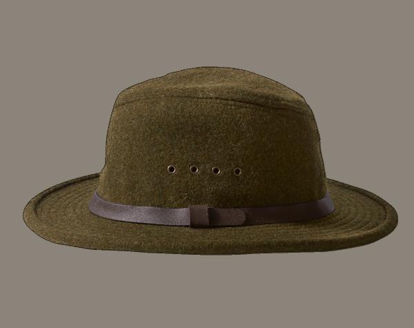 Filson Wool Packer Hat - Forrest Green