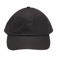 Barbour Waxed Sports Cap - black