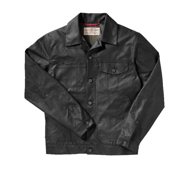 Filson Short Lined Cruiser Jacket - Black