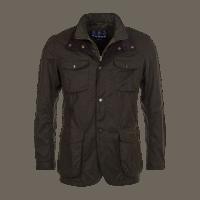 Barbour Ogston Wax Jacket - olive