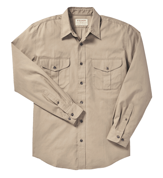 Filson Safari Cloth Shirt - khaki