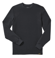 Filson Waffle Knit Thermal Crew Shirt-navy