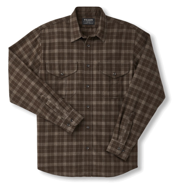 Filson LT Alaskan Guide Shirt - Brown/Taupe