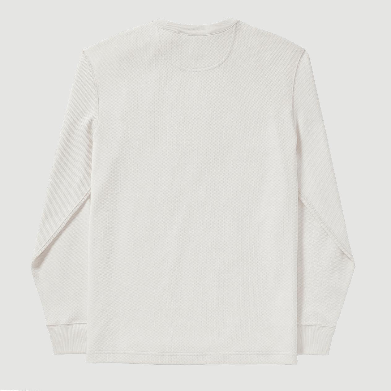 Filson Waffle Knit Thermal Crew Shirt-sand