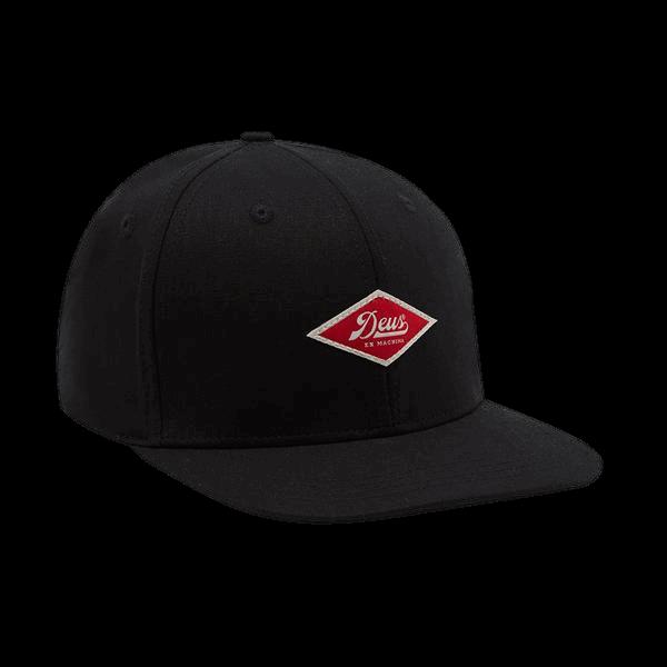 Deus Hemp Baseball Cap - black