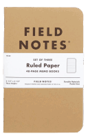Field Notes Original Kraft - Ruled