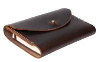 Scott Willis Moleskin Pferdeleder Din A6 brown