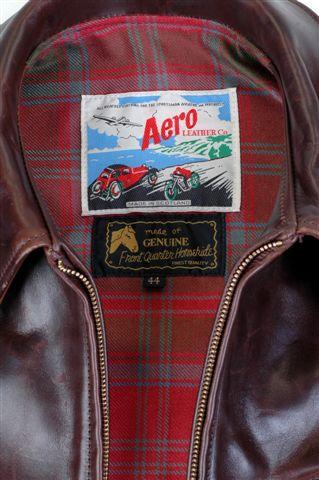 AERO LEATHER HIGHWAYMAN – THE ORIGINAL - BROWN