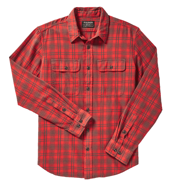 Filson Scout Shirt Shirt red-olive