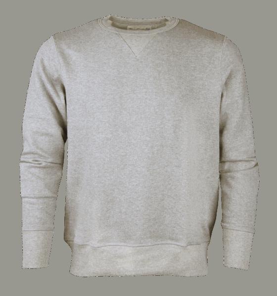 Merz b. Schwanen Sweatshirt - grau melange