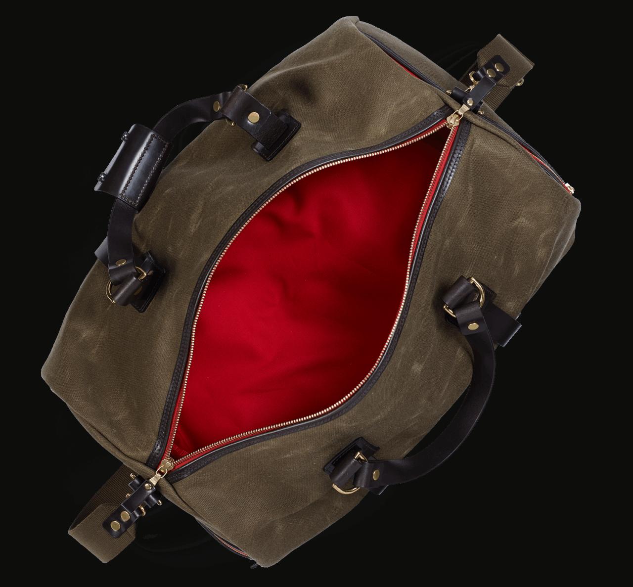 Croots Vintage Duffle Bag med. - olive