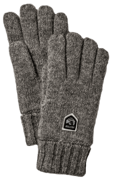 Hestra Basic Wool - Charcoal
