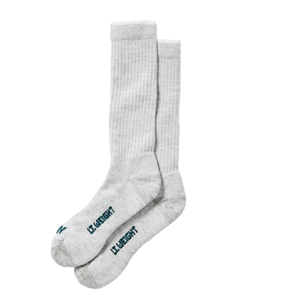 Filson Lightweight Traditional Crew Sock - grey