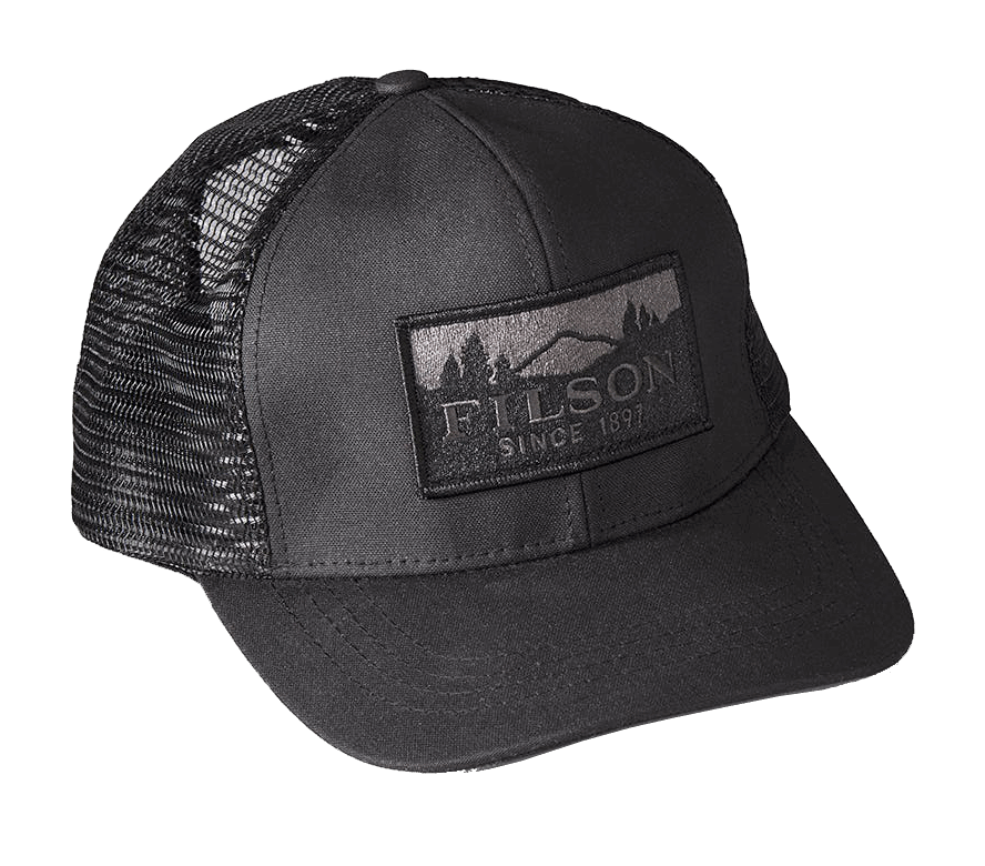 Filson Logger Mesh Cap - Black