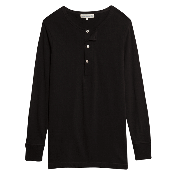 Merz b. Schwanen Shirt 206 - deep black