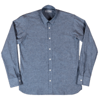 Pike Brothers 1947 Salesman Shirt - ocean blue