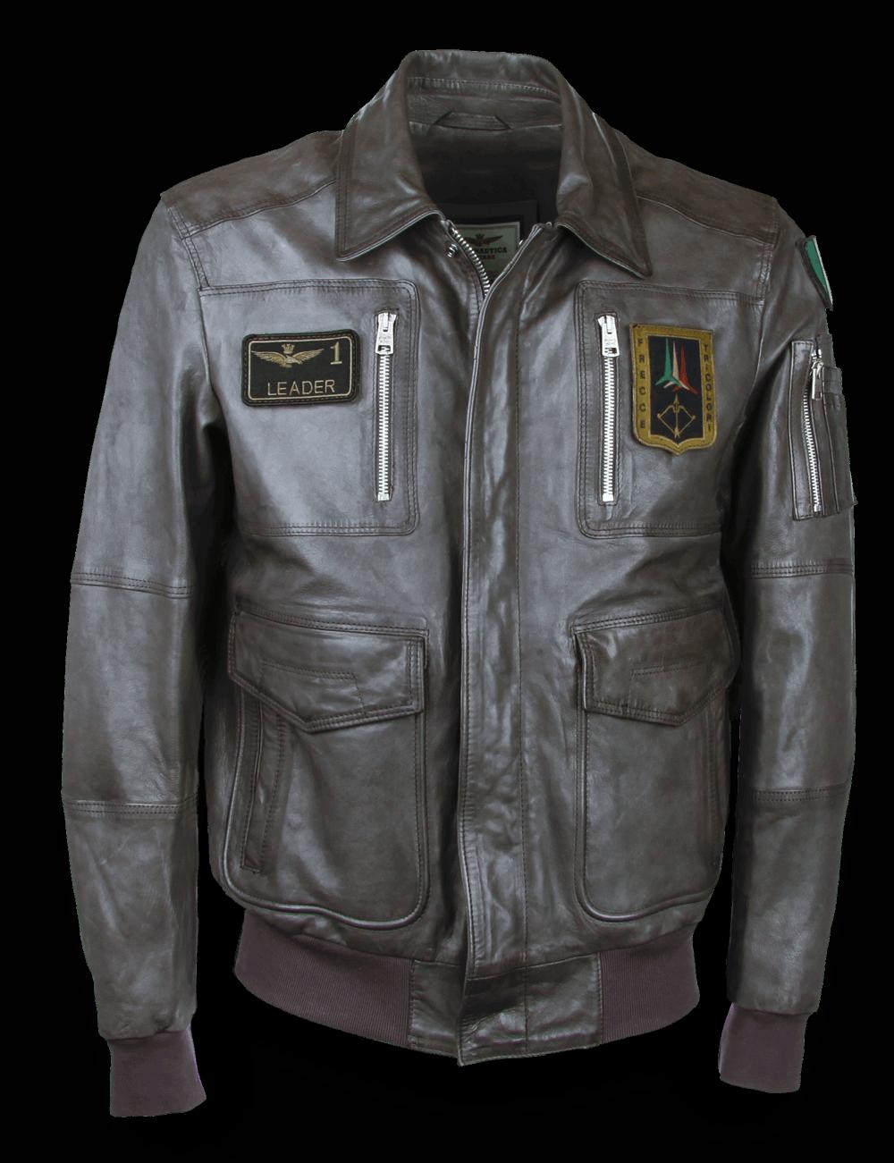 Aeronautica Militare Lederjacke