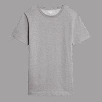 Merz b. Schwanen Rundhals T-Shirt 215 - grau