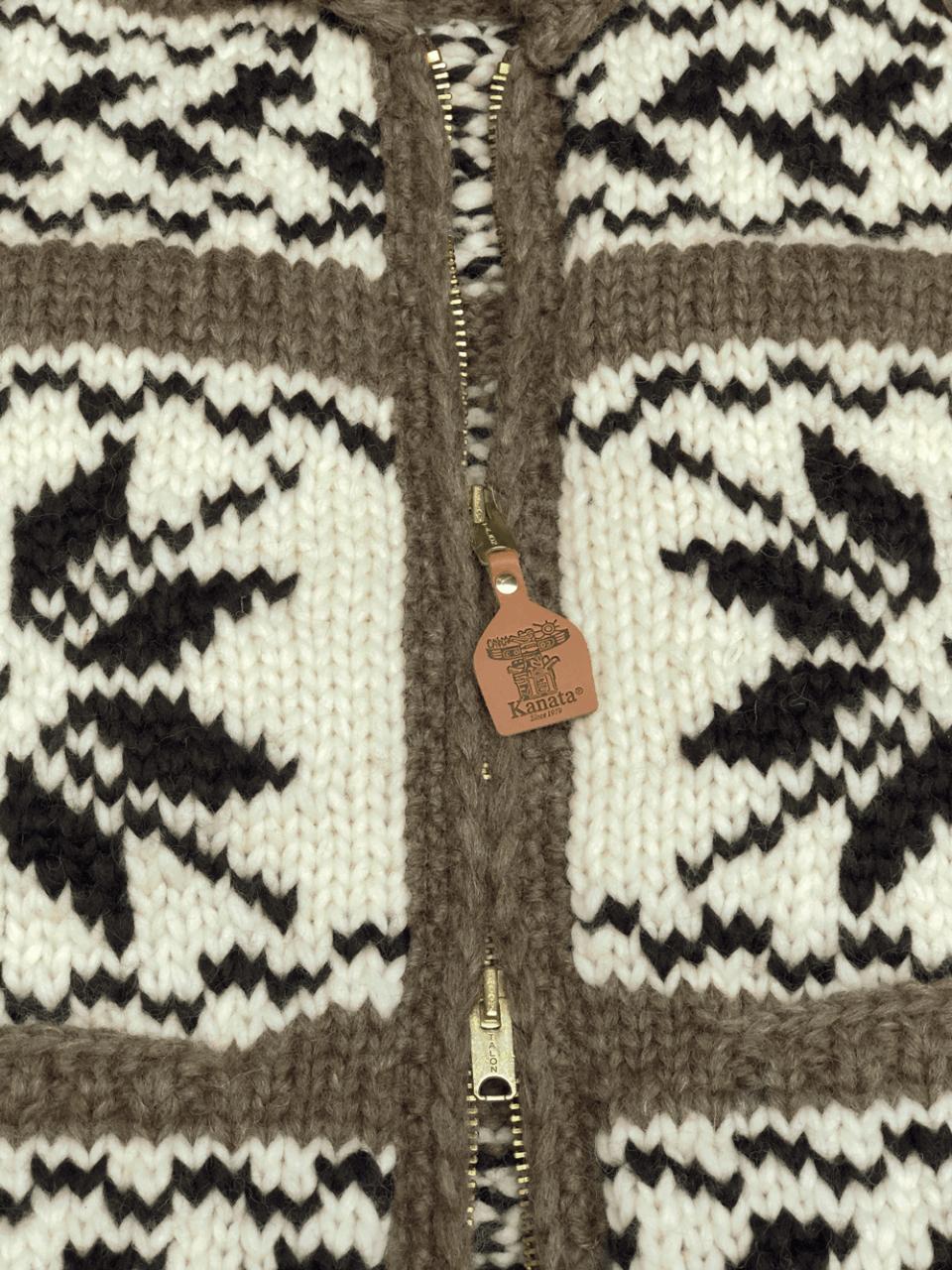 Kanata Wool Jacket - brown