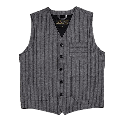 Pike Brothers 1937 Roamer Vest swedish stripes - grey