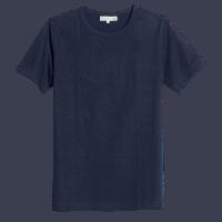 Merz b. Schwanen 1950's T-Shirt - ink blue