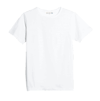 Merz b. Schwanen G.O. Roundneck T-Shirt 215 - white
