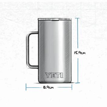 YETI Rambler 24oz (710ml) Mug - highland olive