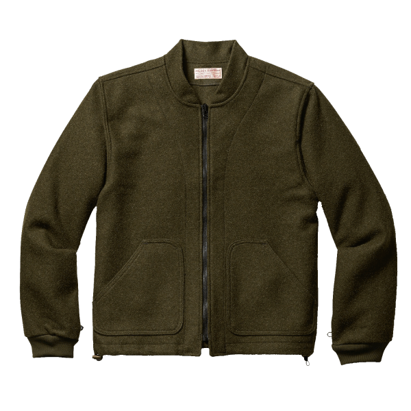 Filson Wool Jacket Liner - Forrest Green